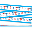 Carson Dellosa CD-4421 Student Number Lines 30/Pk 22 X 1-1/2 Numbers 0-30