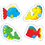 Carson Dellosa CD-5252 Fish Stickers 144 Count, Price/EA