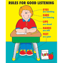 Carson Dellosa CD-6068 Chartlet Rules For Good Listening 17 X 22