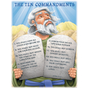 Carson Dellosa CD-6329 Chartlet The Ten Commandments 17 X 22