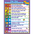Carson Dellosa CD-6359 The Ten Commandments For Kids