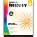 Carson Dellosa CD-704611 Spectrum Vocabulary Gr 4