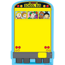 Carson Dellosa CD-9206 Novel Note School Bus 50 Sheets