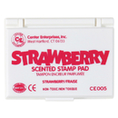 Center Enterprises CE-05 Stamp Pad Scented Strawberry Hot Pink