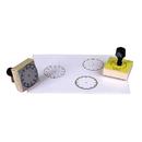 Center Enterprises CE-099 Stamp Set 3 Clock 5-Min/60-Min/Hour Numerals