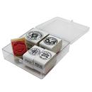 Center Enterprises CE-104 Stamp Set Coins Tails 5/Pk