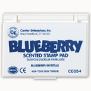 Center Enterprises CE-54 Stamp Pad Scented Blueberry Blue