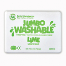 Center Enterprises CE-5510 Jumbo Stamp Pad Lime Green Washable
