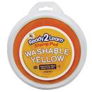 Center Enterprises CE-6601 Jumbo Circular Washable Pads Yellow Single