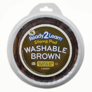 Center Enterprises CE-6611 Jumbo Circular Washable Pads Brown Single