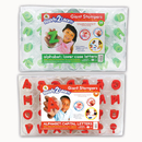 Center Enterprises CE-6713 Ready2Learn Giant Alphabet Letters Stampers Set Includes Ce-6711&6712