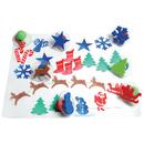 Center Enterprises CE-6725 Giant Christmas Stamps Set Of 10