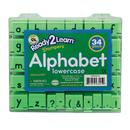 Center Enterprises CE-6812 Manuscript Alphabet Stamp Set 1 Lowercase