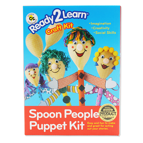 Center Enterprises CE-6901 Ready2Learn Craft Kit Spoon People, Price/EA