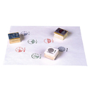 Center Enterprises CE-785 Stamp Set Fraction Circle 6/Pk