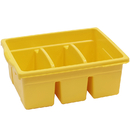 Copernicus Educational Prod. CEPCC4069Y Leveled Reading Yellow Large Divided Book Tub