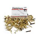 Charles Leonard CHL3RBP Brass Paper Fasteners 3/4 100/Box