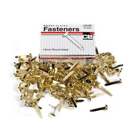 Charles Leonard CHL3RBP Brass Paper Fasteners 3/4 100/Box, Price/EA