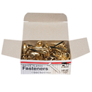 Charles Leonard CHL4RBP Brass Paper Fasteners 1 100/Box