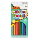 Charles Leonard CHL67512 Presharpened 7In Colored Pencils