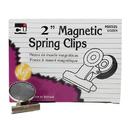 Charles Leonard CHL68520 Magnetic Spring Clips Box-12 1 Each 2 Inch