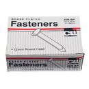Charles Leonard CHL6RBP Brass Paper Fasteners 1 1/2 100/Box