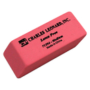 Charles Leonard CHL71504 24/Bx Synthetic Wedge Erasers Med