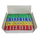 Charles Leonard CHL77775 One Hole Plastic Pencil Sharpener - Assorted Colors