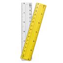 Charles Leonard CHL80640 6In Plastic Ruler