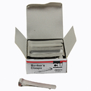 Charles Leonard CHL87214 36/Ct Bankers Clamps 3 1/4 Length Small