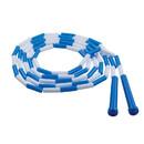 Champion Sports CHSPR9 Plastic Jump Rope Blue White Segmented 9Ft