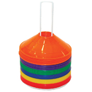 Champion Sports CHSSCXSET Saucer Field Cone Set