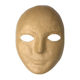 Chenille Kraft CK-4190 Paper Mache Mask, Price/EA