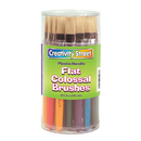 Chenille Kraft CK-5167 Colossal Flat Wood Handle Brush Assortment