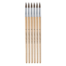 Chenille Kraft CK-5950 Tapered Water Color Brush 6-Set 15/16 Long Size 10