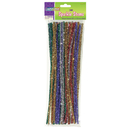 Chenille Kraft CK-711601 Chenille Stems Assorted 12 Sparkle