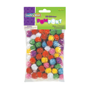 Chenille Kraft CK-811601 Glitter Pom Poms Bag Of 80 1/2 In