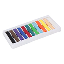 Chenille Kraft CK-9712 Quality Artists Square Pastels 12 Assorted Pastels