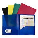 C-Line Products CLI32950 Assorted Two Pocket Poly Portfolios