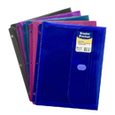 C-Line Products CLI58730 Binder Pocket W/ Velcro Closure Assorted Colors
