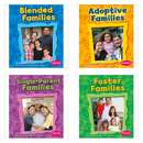 Capstone / Coughlan Pub CPB9781429651622 My Family Book Set Set Of 4