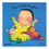 Childs Play Books CPY9780859536103 Ten Little Fingers Board Book