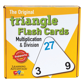 Wiebe Carlson  Associates CRE4552 Triangle Flashcards Mult/Div, Price/EA