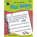 The Critical Thinking CTB1302 Mind Benders Warm Up Gr K-2