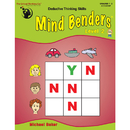 The Critical Thinking CTB1330 Mind Benders Beginning Book 2 - Gr 1-2
