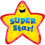 Creative Teaching Press CTP1070 Star Badges Super Star 36/Pk