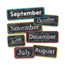Creative Teaching Press CTP1134 Chalk It Up Months Of The Year Head - Lines