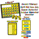 Creative Teaching Press CTP1178 Poppin Patterns Calendar Set