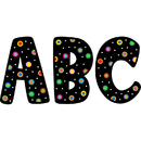 Creative Teaching Press CTP1229 Dots On Black Designer 7In Letters