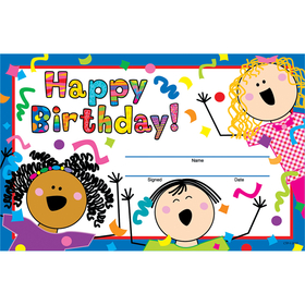 Creative Teaching Press CTP1265 Happy Birthday Awards, Price/EA